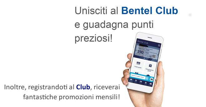 Unisciti al Bentel Club!