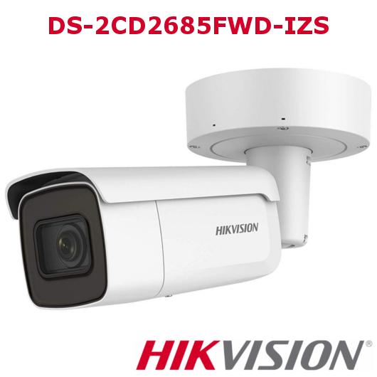 DS-2CD2685FWD-IZS hikvision bullet con ottica varifocale
