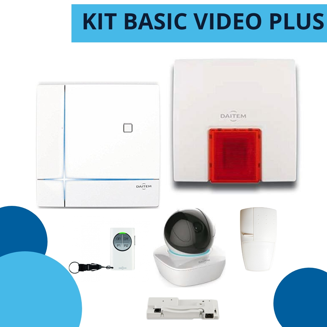 kit basic video plus daitem