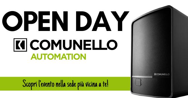 Open Day automazioni comunello nelle sedi Dodic del Lazion