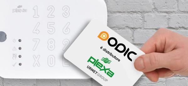 Dodic è distributore dei prodotti controllo accessi di Plexa!