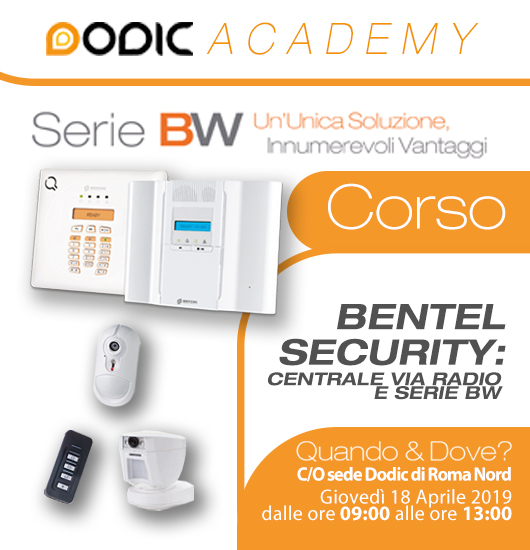 corso bentel security serie BW