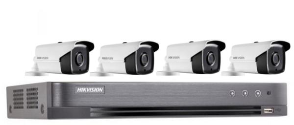 Kit PoC 8 canali hikvision