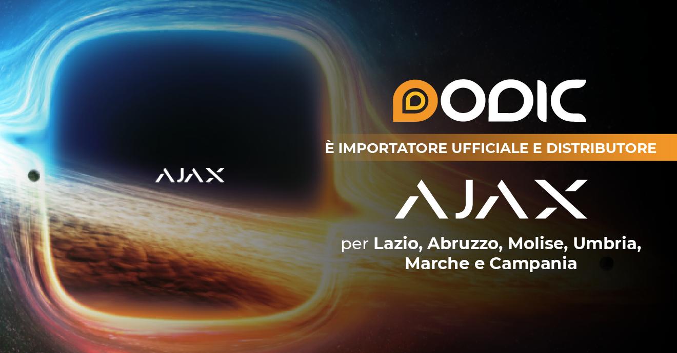 Dodic è distributore di AJAX!